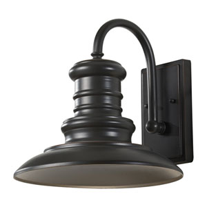 Beauport Bronze 12-Inch LED Outdoor Wall Sconce