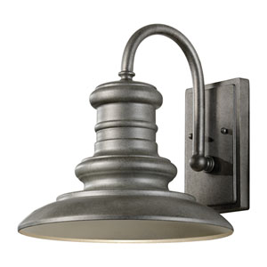 Beauport Silver 12-Inch LED Outdoor Wall Sconce