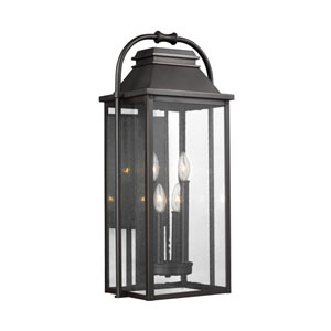 Buchanan Bronze Four-Light Outdoor Wall Lantern