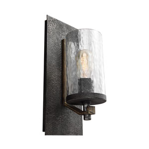 Coventry Gray One-Light Wall Bath Fixture