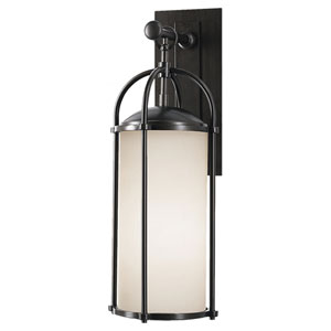 Derry Espresso Eight-Inch One-Light Outdoor Wall Light