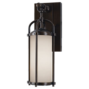 Derry Espresso Five-Inch One-Light Outdoor Wall Light