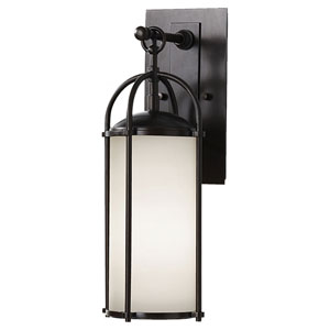 Derry Espresso Six-Inch One-Light Outdoor Wall Light