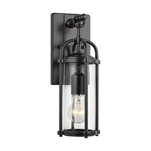Derry Espresso One-Light Wall Lantern
