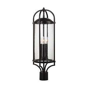 Derry Espresso Three-Light Pier Lantern