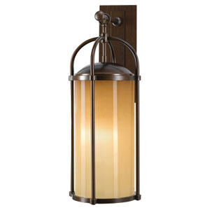 Derry Bronze 10-Inch One-Light Outdoor Wall Light