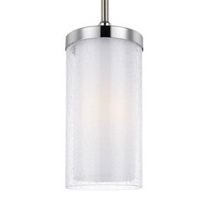 Farley Satin Nickel One-Light Mini Pendant