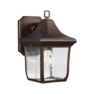 Hereford Bronze One-Light Outdoor Wall Lantern