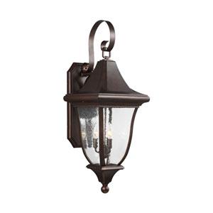 Hereford Bronze Three-Light Outdoor Wall Lantern