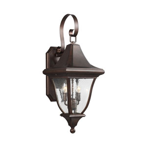 Hereford Bronze Two-Light Outdoor Wall Lantern