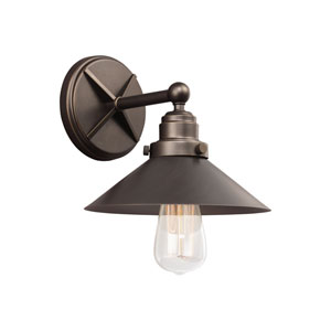 Newry Bronze One-Light Wall Bath Fixture