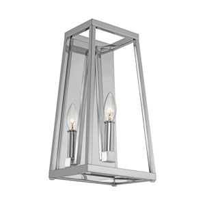 Wakefield Chrome 8-Inch One-Light Wall Bath Fixture