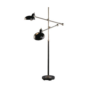 Axel Bronze Two-Light Floor Lamp