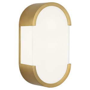 Ayres Gold Two-Light Bath Bar