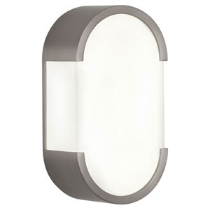 Ayres Silver Two-Light Bath Bar