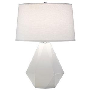 Finn White One-Light Table Lamp