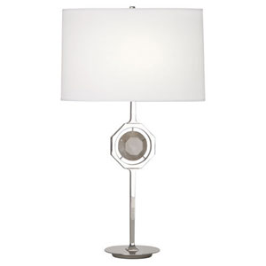 Neptune Polished Nickel One-Light Table Lamp