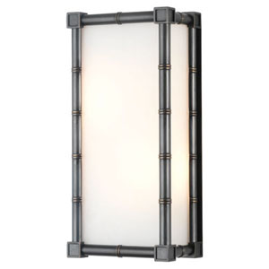 Brenthouse  Patina Bronze Two-Light Wall Sconce