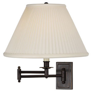 Bayfield Bronze One-Light Wall Swinger