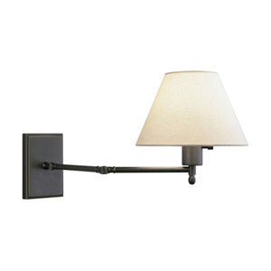Bromfield  Patina Bronze One-Light Wall Swinger