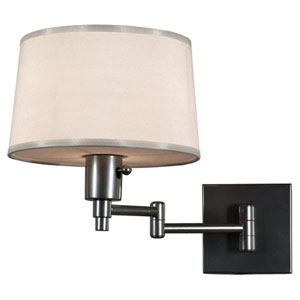 Campbell Gray One-Light Wall Swinger