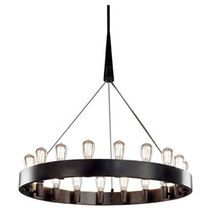 McLean Bronze 18-Light Chandelier
