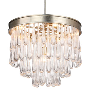 Alfred Polished Chrome Three-Light Mini Chandelier