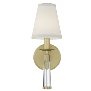 Britton Aged Brass One-Light Wall Sconce