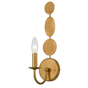 Brompton Antique Gold One-Light Wall Sconce