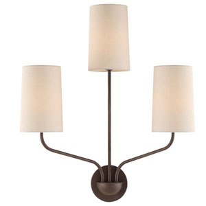 Cardinal Bronze Five-Light Wall Sconce