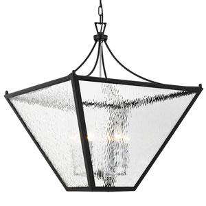 Eyre Black Six-Light Hanging Lantern