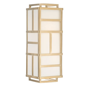 Kenzie Gold Two-Light Wall Sconce