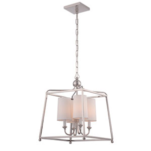 London Polished Nickel Four-Light Pendant