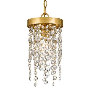 Wharf Antique Gold One-Light Mini Pendant