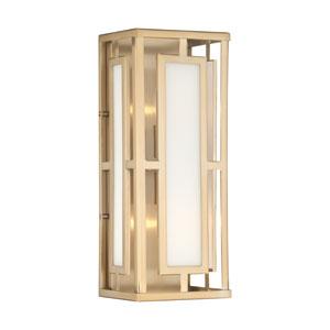 Wren Gold Two-Light Wall Sconce