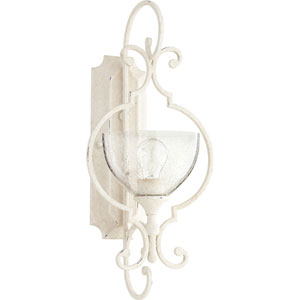 Acacia White One-Light Wall Sconce