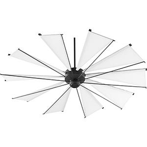 Alberta Black 72-Inch  Ceiling Fan