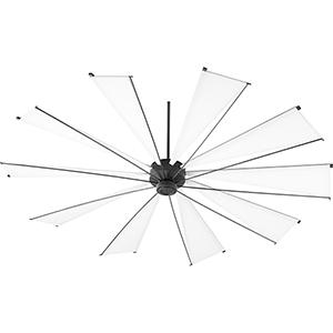 Alberta Black 92-Inch  Ceiling Fan