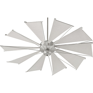 Alberta Satin Nickel 60-Inch  Ceiling Fan