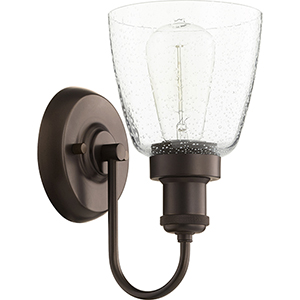 Ashbridge Oiled Bronze One-Light Wall Sconce