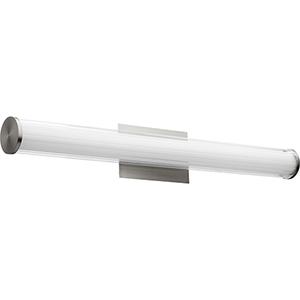 Avante Satin Nickel Two-Light LED Bath Bar