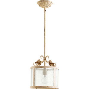 Bloomfield White One-Light Pendant