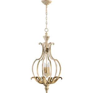 Bloomfield White Four-Light Pendant