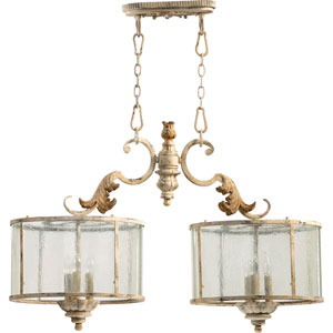 Bloomfield White Six-Light Pendant