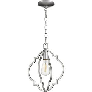 Carnegie Brushed Nickel One-Light Pendant