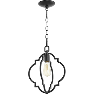 Carnegie Black One-Light Pendant