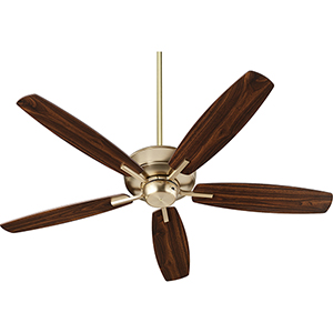 Cedars Aged Brass  Ceiling Fan