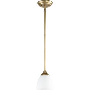 Creekside Aged Brass One-Light Mini Pendant