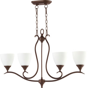 Creekside Oiled Bronze Six-Inch Four-Light Pendant