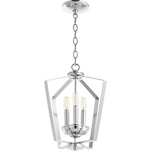 Greenfield Chrome Three-Light Pendant